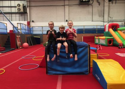 Gymnastic sessions in robinhood gymnastics club