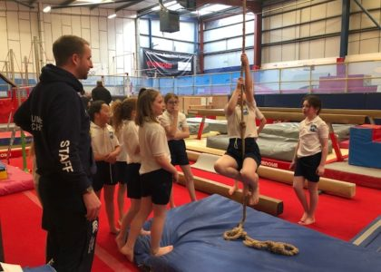 Group sessions in robinhood gymnastics club