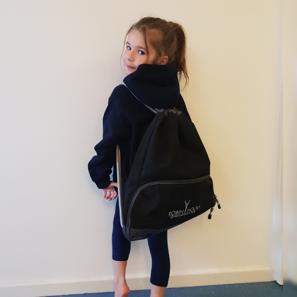 RobinHood gymnastics club shop Bag
