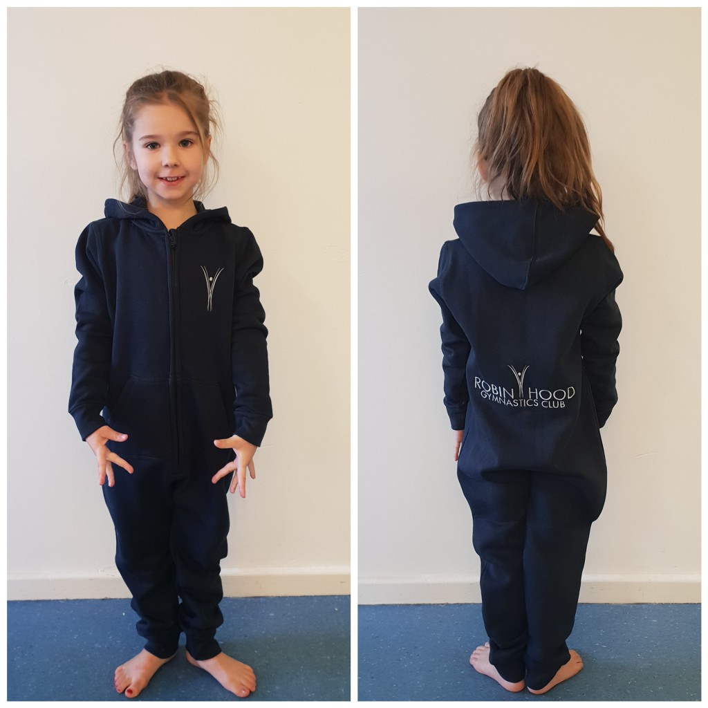 RobinHood gymnastics club shop Onesie