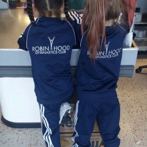 Robinhood gymnastics club Adidas Tracksuit Jacket