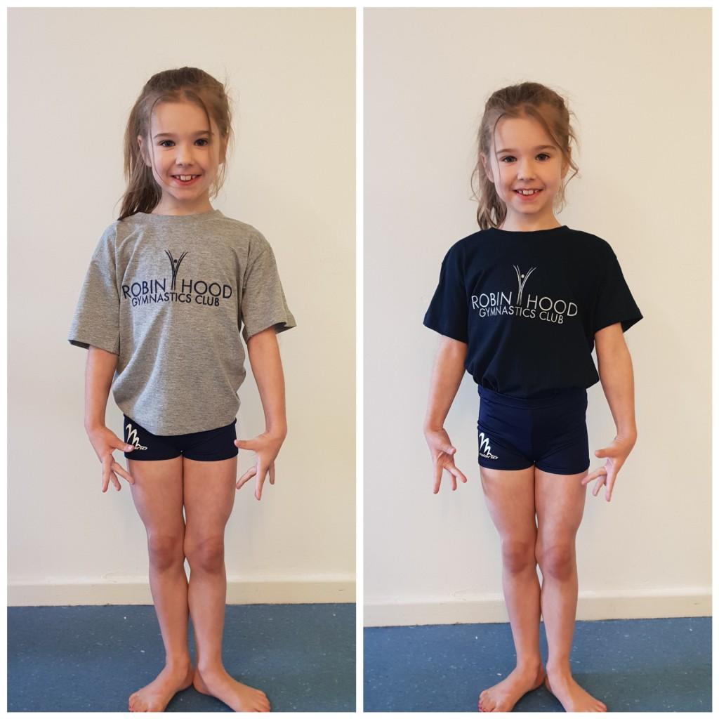 RobinHood gymnastics club shop Tshirt