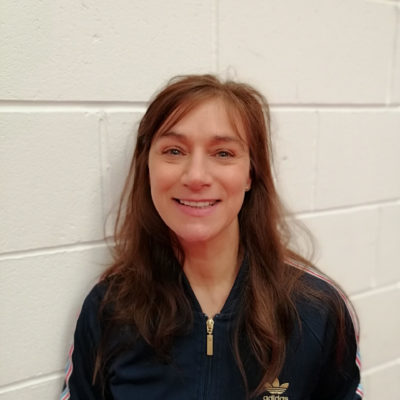 Claire Starkey Barbieri Director of Robinhood Gymnastics club