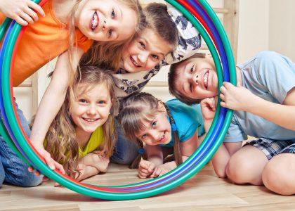 School camp in robinhood gymnastics club in nottingham